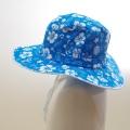 スイム ハット キッズ  水泳帽 ボーダー ハイビス (HAT-1016H)