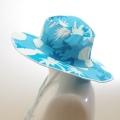 スイム ハット キッズ  水泳帽 ボーダー パイン (HAT-1016-P)