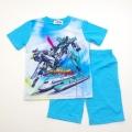 新幹線変形ロボ シンカリオン 半袖Tシャツ生地のパジャマ  (832KO007116)