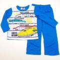 でんたま(新幹線) 光る長袖パジャマ 100-130cm (833DT102113)