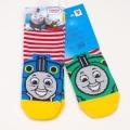 きかんしゃトーマス と パーシー 左右柄違いソックス・靴下 (1712-8D2-580)