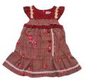 Souris(スーリー) ローズししゅうジャンバースカート 100cm-140cm(285540)