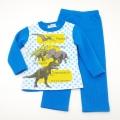 ダイナソー(恐竜) 長袖パジャマ 裏起毛 100~130cm(834DN104113)