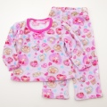 サンリオ ぼんぼんりぼん もこもこ長袖パジャマ 100-130cm(834BO107113)