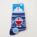 ドラえもん ソックス・靴下 ブルー 13-19cm(180-19U1-700)