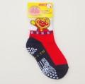 アンパンマン ソックス・靴下 スベリ止メ付き レッド 9-12/12-15cm(1871-930-550)