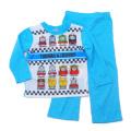 きかんしゃトーマス 光る Tシャツ生地 長袖パジャマ 蓄光 100〜130cm(931TM108113)