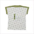 日本製 Louis Feraud チャイルド 半袖ボートネックシャツ 12か月/24か月 GN (1902-2021)