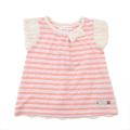 Lily ivory 半袖Tシャツ(80〜130cm)ピンク 71055x71355-142