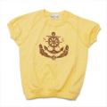 レトロ チャイルドの半袖Tシャツ 3-4才 (1904-2351)
