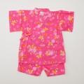 日本製 甚平スーツ 女の子 蝶  90/95cm (920951)