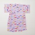 日本製 甚平スーツ 女の子 リボン  90/95cm (920924)
