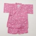 日本製 甚平スーツ 女の子 うさぎ 90/95cm (920928)