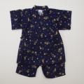 日本製 甚平スーツ 祭り 男の子 フクロウ 100cm-130cm(920946)