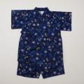日本製 甚平スーツ 祭り 男の子 トンボ 100cm-130cm(920922)