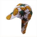 日よけ つば 付き スイムキャップ  水泳帽 パイン (CAT-19-PN)