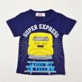でんたま(新幹線) 半袖Tシャツ 100cm-130cm (942DT0011)