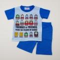 きかんしゃトーマス 半袖Tシャツ生地のパジャマ 100-130cm (932TM007112)