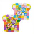 アンパンマン 半袖Tシャツ ブロック  90cm-100cm (SA3135)