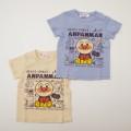 アンパンマン 半袖Tシャツ 落書き  90cm-100cm (SA3132)