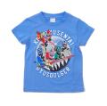 騎士竜戦隊リュウソウジャー 半袖Tシャツ ブルー(OS9058)