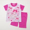 サンリオ マイメロディ  半袖Tシャツ生地のパジャマ  90cm/100cm(932MM0070)