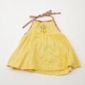レトロ チャイルドのお洋服 イエロー 12か月 (1907-3481)