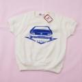 レトロ チルドレンの半袖Tシャツ 2-3才用 (1907-3493)