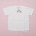 半袖Tシャツ ホワイト 無地 95cm(1908-3595)