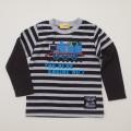きかんしゃトーマス 長袖Tシャツ グレー 100cm/120cm(342161205-03)