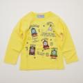 きかんしゃトーマス 長袖Tシャツ 100cm-120cm(943TM4011-YE)