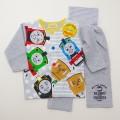 きかんしゃトーマス 前ボタン ボタン練習用 腹巻付き長袖パジャマ 90cm/95cm (164701-03)