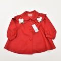 レトロ  おとぎの国 女の子 赤いコート 95cm (1911-0721)