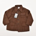 レトロ チャイルドの ジャケット 3-4才用 茶色(1911-0740)