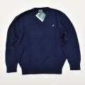 レトロ  アーノルドパーマー レナウン Vセーター  紺色 140cm  (1912-0867)