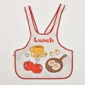 レトロ Lunch エプロン 1~4才用 (1912-0884)