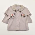 レトロ エンゼルベビーのケープ 刺繍付きコート 2才 (1912-0955)