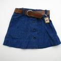 チャイルドのスカートベルト付き 紺色7〜8才 (A157504)