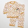 日本製 おとぎの国のパジャマ カラシ色  80cm/90cm/95cm (C158541)