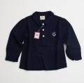 日本製 チルドレンのヴラウス 胸ポケット刺繍付き 3-4才用 100cm(C16-2919)