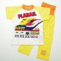 タカラトミー プラレール 半袖腹巻付パジャマ イエロー90-95cm(78P084-41)