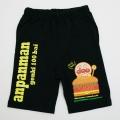 アンパンマン 5分丈パンツ ブラック色 90cm-95cm (SA7497)
