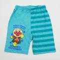 アンパンマン 5分丈パンツ ミント色 90cm-95cm (SA7496)