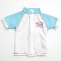 T&C Surf Designs Hawaii 半袖ラッシュガード スイムウェアー ブルー110~120cm(3707-102)