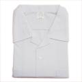 日本製 スクール 半袖開襟シャツ両ポケット B170cm(42901)