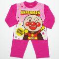 アンパンマンの長袖パジャマ(EA2829-P)
