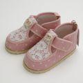 Souris(スーリー)ベビー・女児シューズ 靴 ピンク (345982-6)
