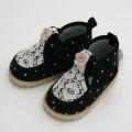 Souris(スーリー)ベビー・女児シューズ 靴 ブラック (345982-11)