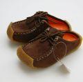 現品処分♪SESAME CLUB(セサミクラブ) サボシューズ フェーク(スエード調)15cm/160cm キッズ靴 S062-4419