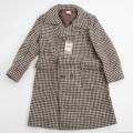 日本製 チャイルドのウールの上品なお洒落コート 男女兼用 8才用(120cm)(L151958)